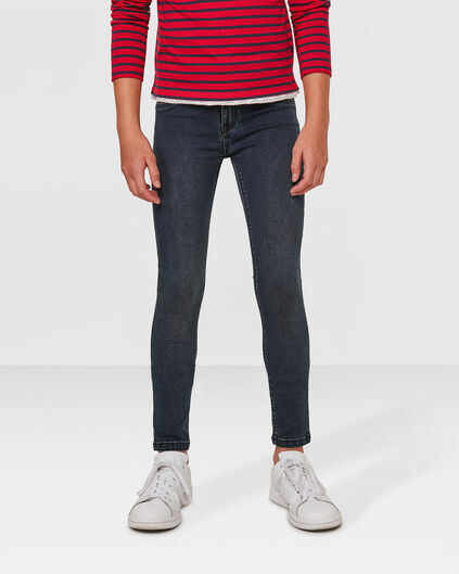 MÄDCHEN-SUPERSKINNY-POWER-STRETCH-JEGGING Dunkelblau