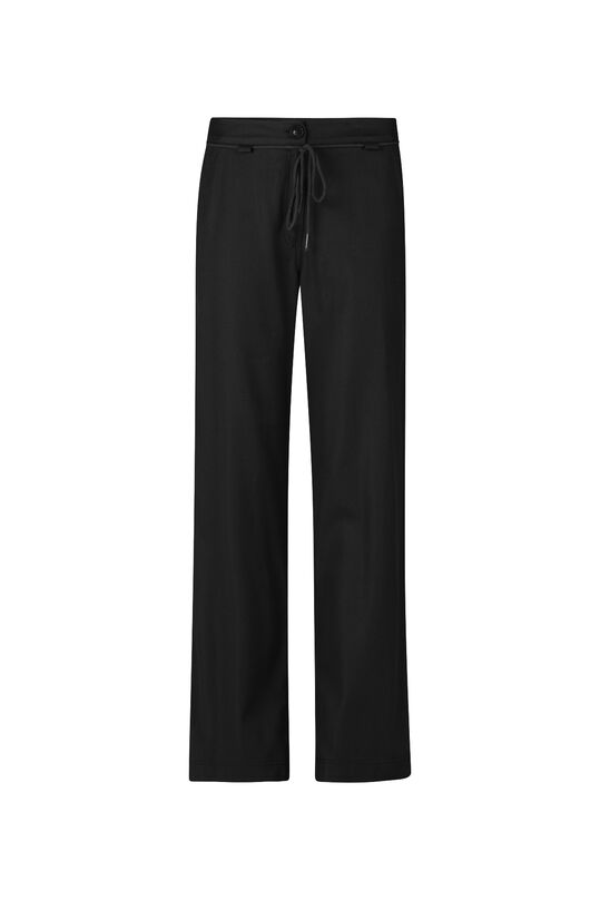 Damen-Relaxed-Fit-Hose Schwarz