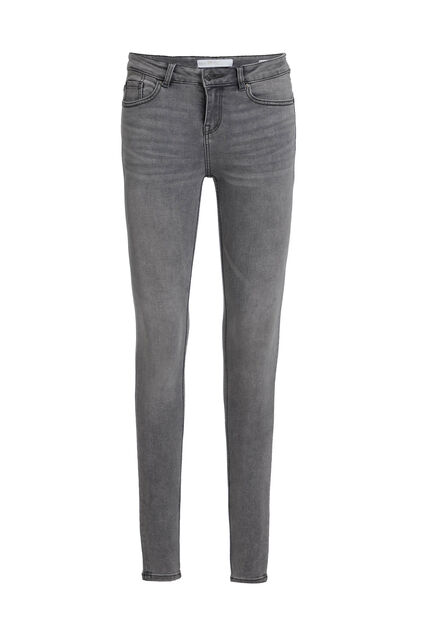 Damen-Superskinny-Jeans aus Superstretch Grau