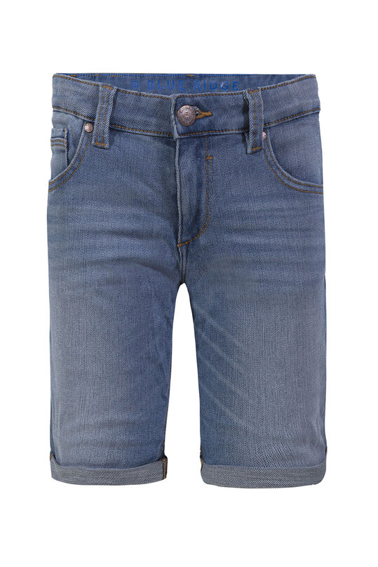 Jungen-Regular-Fit-Jeansshorts Blau