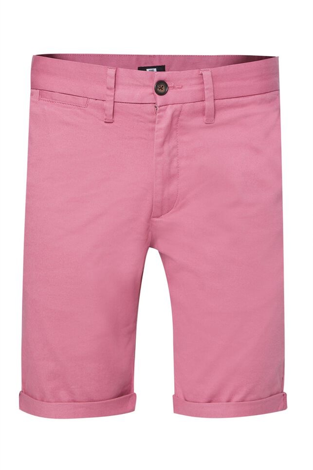 Herren-Slim-Fit-Chinoshorts Rosa