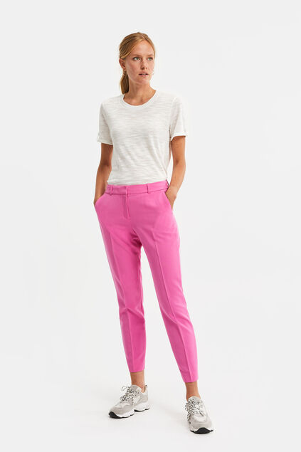 Damen-Regular-Fit-Hose Rosa