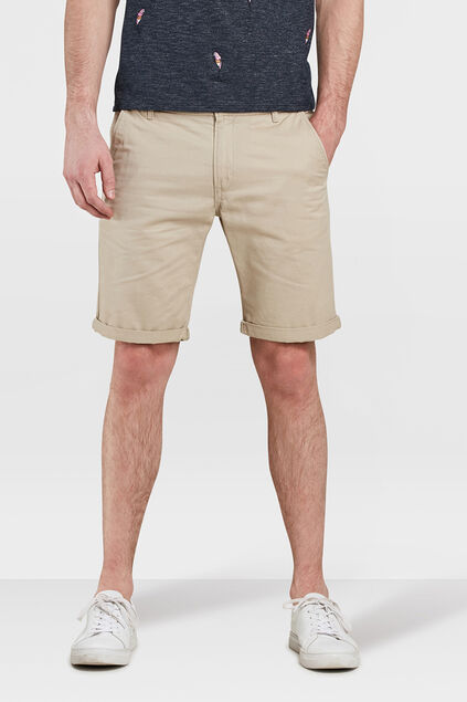 HERREN-REGULAR-FIT-SHORTS Beige