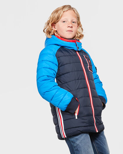 BAD BOYS JUNGENJACKE IN COLORBLOCK-OPTIK Dunkelblau