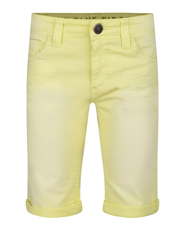 JUNGEN-SHORTS IN GARMENT-DYE-OPTIK Gelb