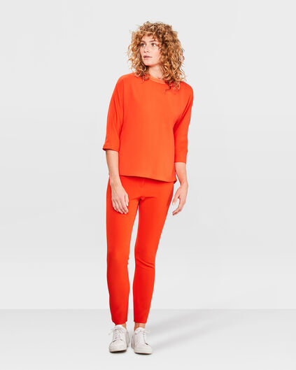 DAMEN-SLIM-FIT-HOSE Orange