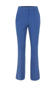 Damenhose mit hoher Taille_Damenhose mit hoher Taille, Blau