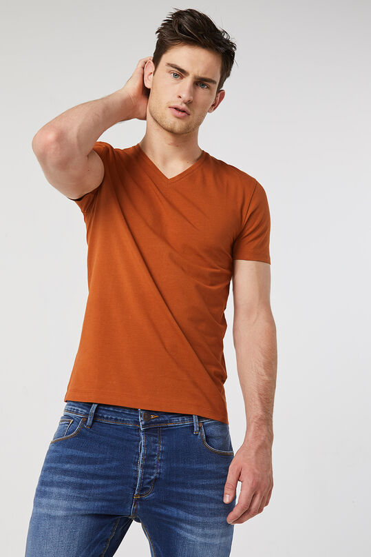 Herren-T-Shirt Orange