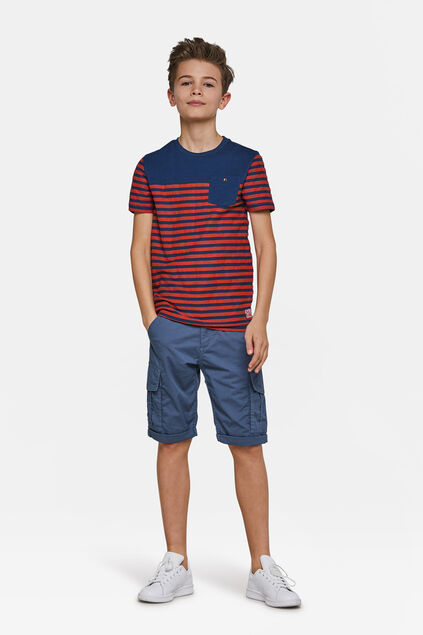 Jungen-Regular-Fit-Shorts Hellblau