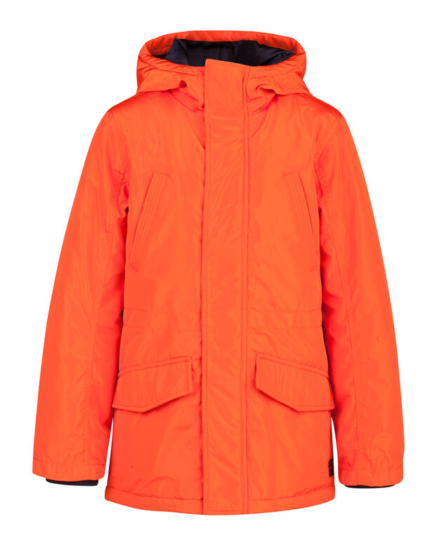 JUNGENPARKA MIT KAPUZE Orange