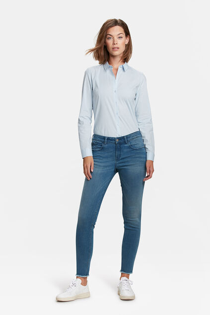 DAMEN-SUPERSKINNY-JEANS Hellblau
