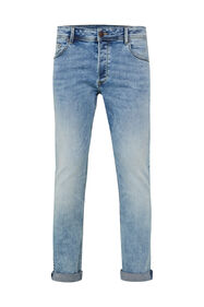 Herren-Slim-Fit-Jeans aus Jog-Denim_Herren-Slim-Fit-Jeans aus Jog-Denim, Hellblau
