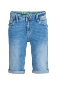 Jungen-Jog-Denim-Shorts mit Slim-Fit-Passform_Jungen-Jog-Denim-Shorts mit Slim-Fit-Passform, Blau