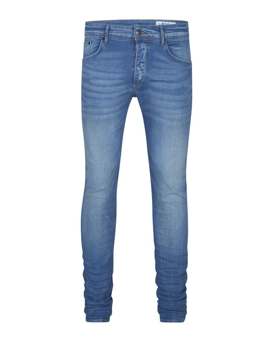 HERREN-SKINNY-TAPERED-SUPER-STRETCH-JEANS Hellblau