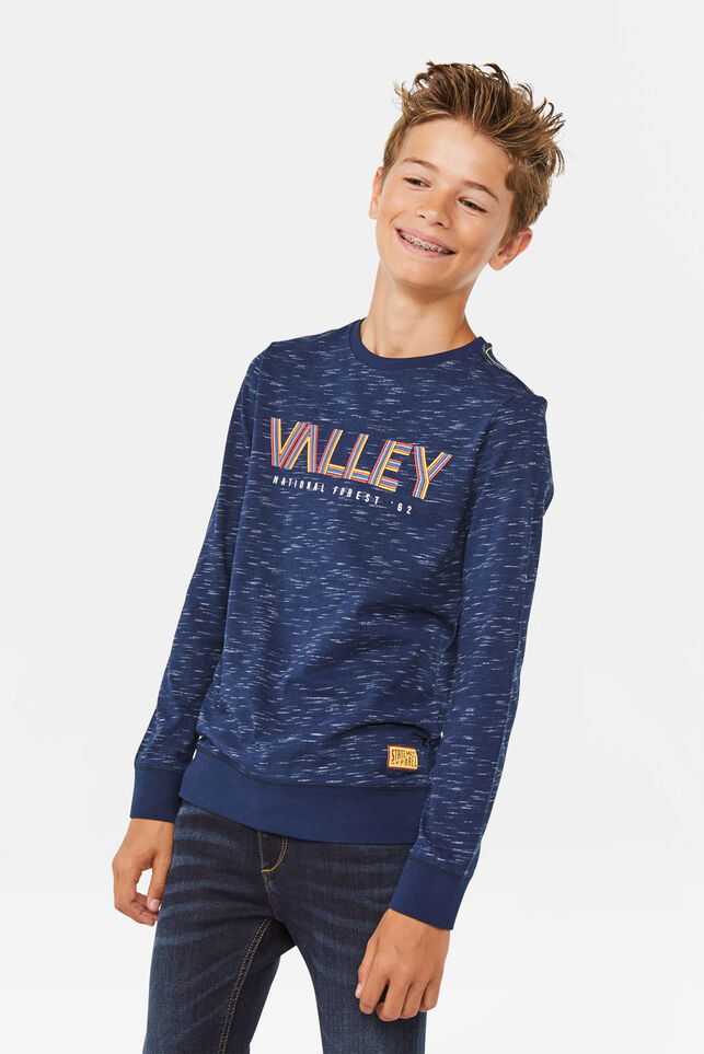 "Jungenshirt ""Valley"" Marineblau"