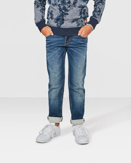 JUNGEN-REGULAR-FIT-JOG-DENIM Blau