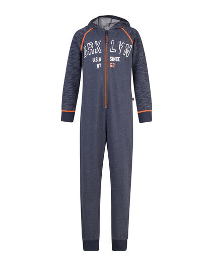 JUNGEN-ONESIE IN ROYAL BLUE Dunkelblau