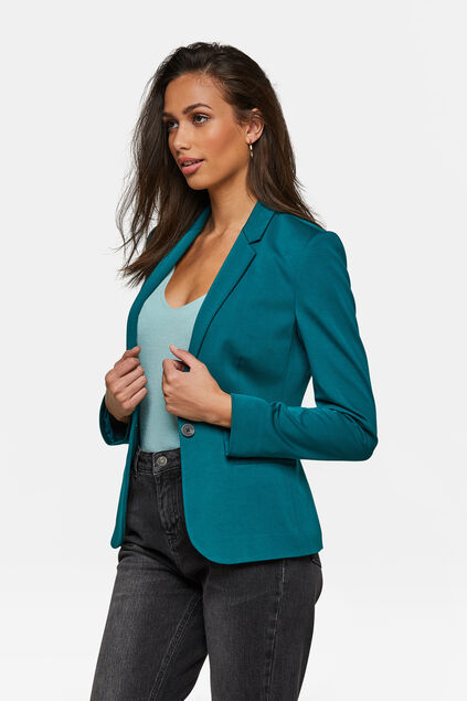 DAMEN-SLIM-FIT-BLAZER Grün