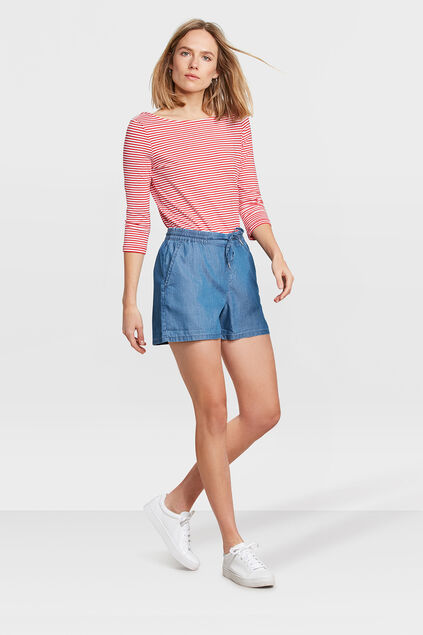 DAMEN-JEANSSHORTS IM RELAXED-FIT Blau