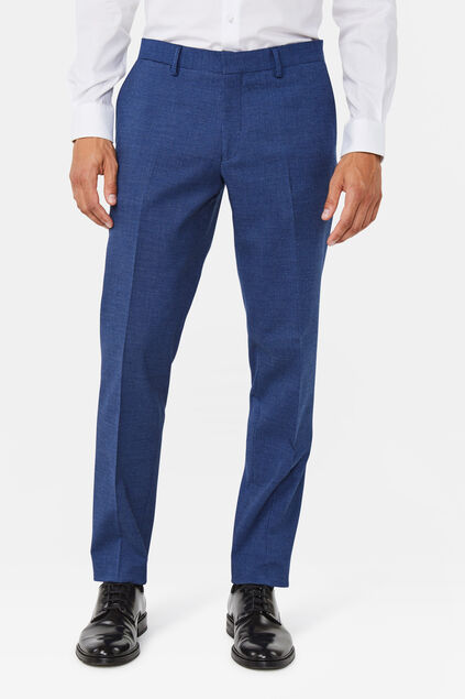 Herren-Regular-Fit-Anzughose Benjamin Marineblau