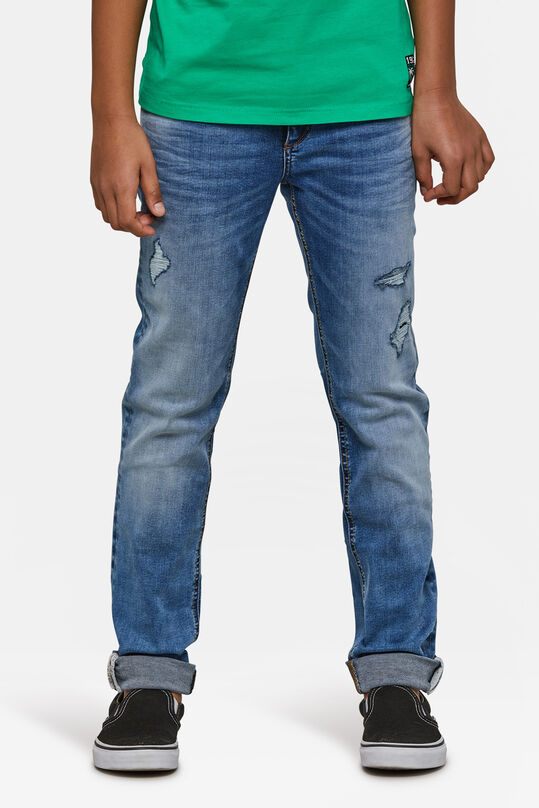 Jungen-Skinny-Fit-Jog-Denim Blau