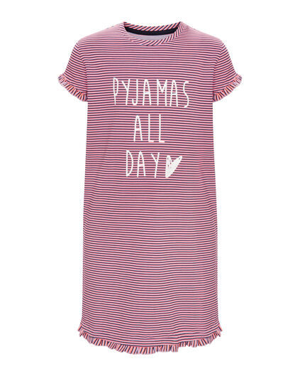 "MÄDCHENNACHTHEMD ""PYJAMAS ALL DAY"" Lavendel"