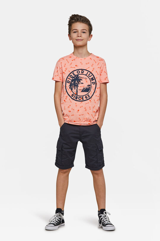 Jungen-Regular-Fit-Shorts Dunkelblau
