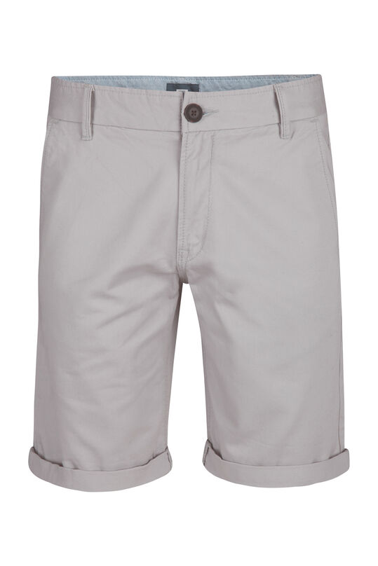 Herren-Regular-Fit-Chinoshorts Hellgrau