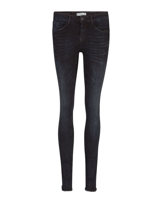 DAMEN-MIDRISE-SUPERSKINNY-HIGH-STRETCH-JEANS Schwarz