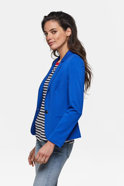DAMEN-SLIM-FIT-BLAZER Knallblau