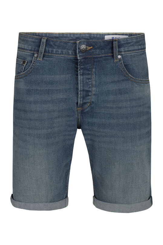 Herren-Regular-Fit-Shorts Blau