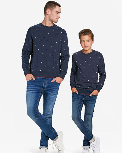 Mini me set: SWEATSHIRT MIT GRAFIKMUSTER