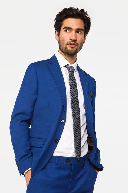 "Herren-Slim-Fit-Sakko ""Johnson"" Blau"