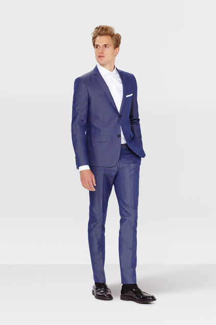 HERRENANZUG SLIM FIT RILLO