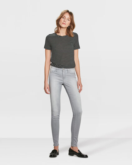 DAMEN-SUPERSKINNY-JEGGINGS Hellgrau