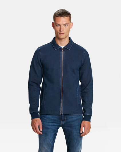 BLUE RIDGE HERREN-SWEATJACKE Indigo