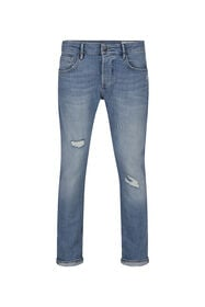 HERRENJEANS MIT TAPERED LEGS_HERRENJEANS MIT TAPERED LEGS, Blau