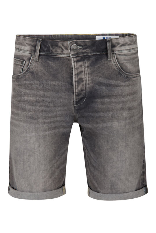 Herren-Regular-Fit-Shorts Grau