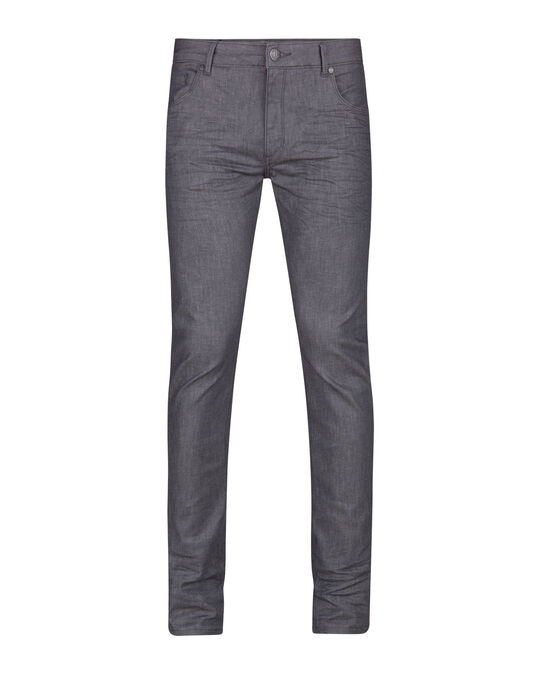 Herren-Skinny-Fit-Super-Stretch-Jeans Grau