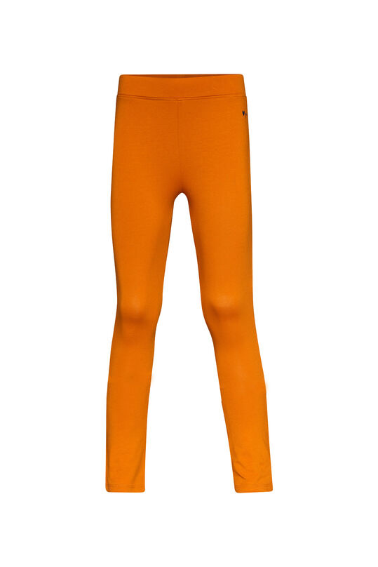 Mädchen-Skinny-Fit-Leggings Orange