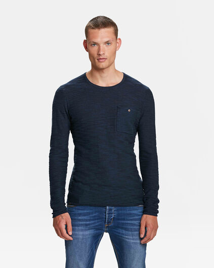 BLUE RIDGE HERRENPULLOVER Marineblau