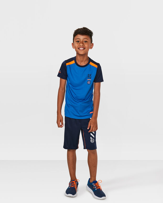 "JUNGEN-T-SHIRT ""ONE TEAM"" Blau"