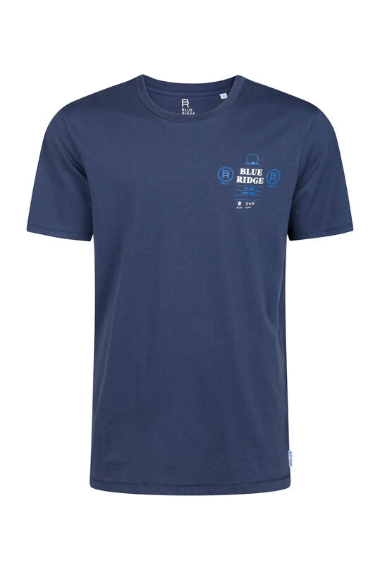 Blue Ridge Herren-T-Shirt Indigo