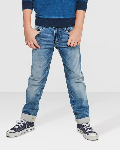 JUNGEN-REGULAR-FIT-JOG-DENIM Hellblau