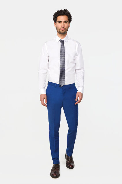 "Herren-Slim-Fit-Anzughose ""Johnson"" Blau"
