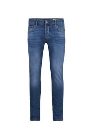 Herren-Slim-Fit-Jeans mit Tapered Leg_Herren-Slim-Fit-Jeans mit Tapered Leg, Blau