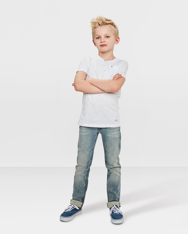 jungen skinny fit grey jog denim 79012287 we fashion. Black Bedroom Furniture Sets. Home Design Ideas