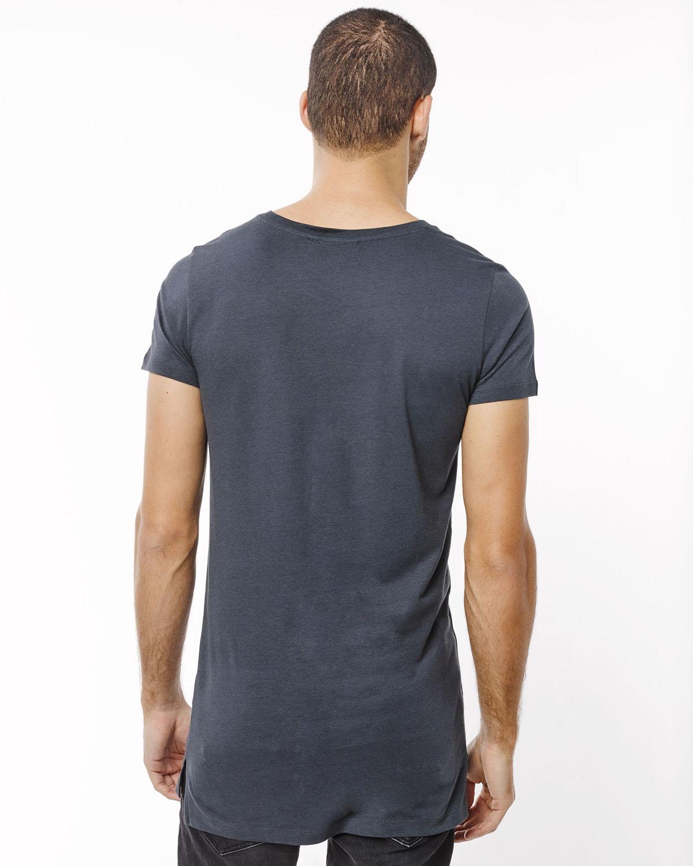 herren long fit t shirt 78666191 we fashion. Black Bedroom Furniture Sets. Home Design Ideas