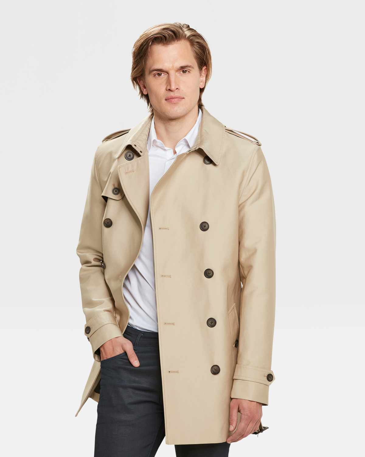 wholesale dealer 25ba0 36401 KLASSISCHER HERREN-TRENCHCOAT | 80491767 - WE Fashion