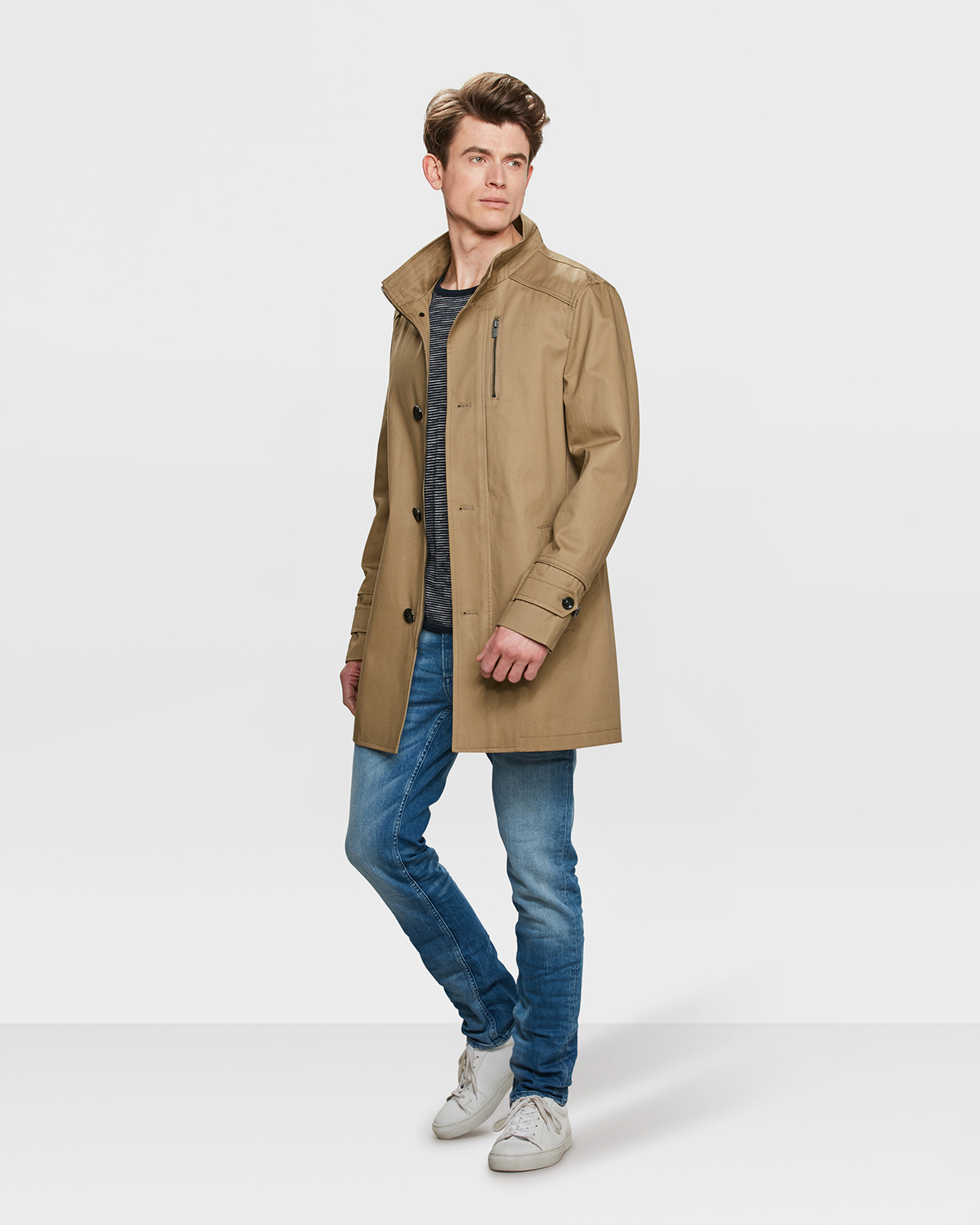 new concept 73e38 e7b5e HERREN-TRENCHCOAT | 80549482 - WE Fashion